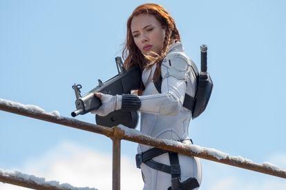 Scarlett Johansson em 'Viúva Negra'.