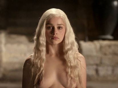 Emilia Clarke, Daenerys em 'Game of Thrones'.