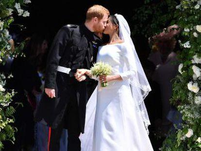Windsor e todo o Reino Unido se entregam à celebração dos duques de Sussex