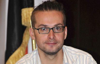O jornalista norte-americano Luke Somers.
