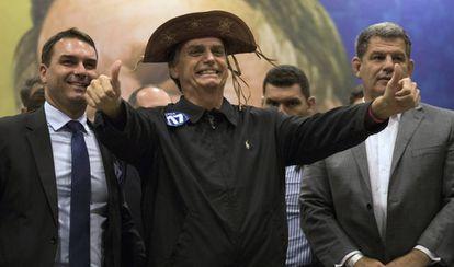 O presidente eleito Jair Bolsonaro em uma foto de outubro, no Rio.