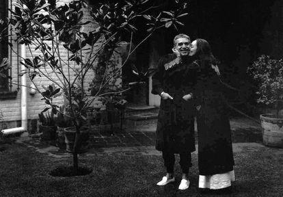 Gabo e a esposa Mercedes Barcha, quando receberam a notícia do Nobel de Literatura, em 1982.