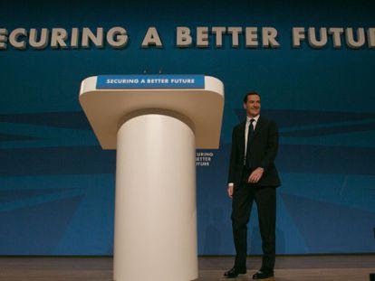 O ministro de Finanças britânico George Osborne.