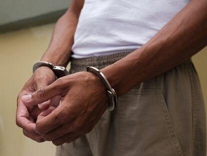 Detento da penitenciária de Guareí (SP), em março deste ano.