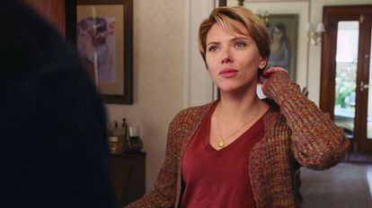 Scarlett Johansson em 'História de um Casamento'.