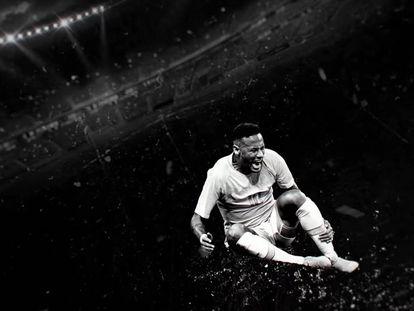 Em anúncio publicitário, Neymar reconhece exageros dentro de campo.