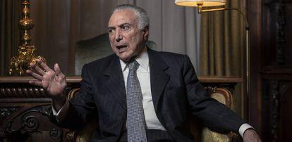 O ex-presidente do Brasil Michel Temer.