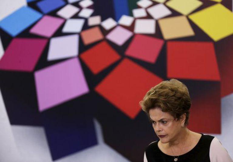 Dilma na entrega do prêmio nacional de Direitos Humanos.