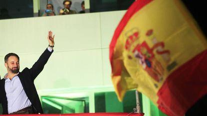 Santiago Abascal, liderança do Vox.