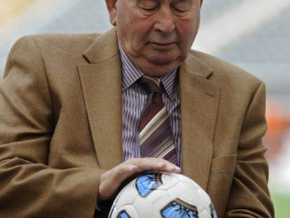 O presidente da federação argentina.