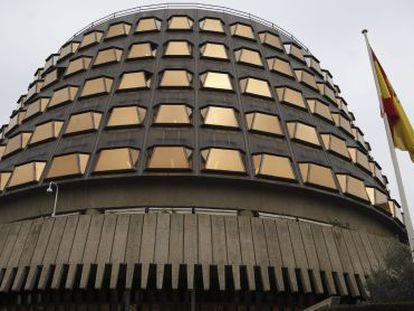 Fachada do Tribunal Constitucional.