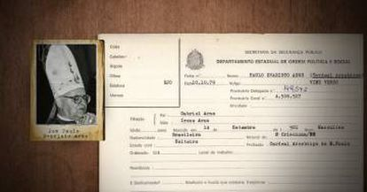 Religioso foi fichado no DOPS em 1979.