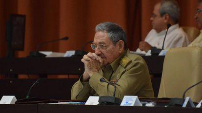 Raúl Castro, na Assembleia Nacional