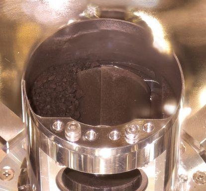 Cápsula com material do asteroide Ryugu.