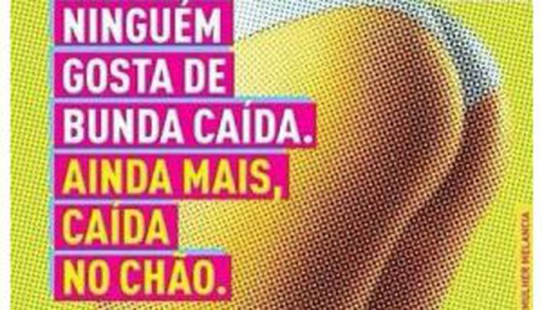 Peça da campanha realizada pelo movimento Rio Eu Amo Eu Cuido.