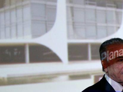 Temer na reunião com governadores, em Brasília.
