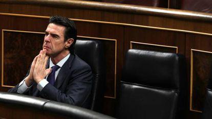 José Manuel Soria, nesta quarta-feira no Congresso.