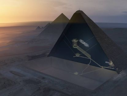Imagem ilustrativa da pirâmide de Quéops