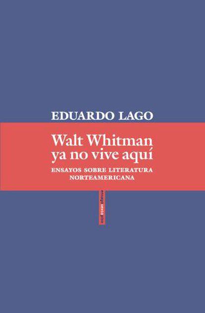 Capa do novo livro de Eduardo Lago