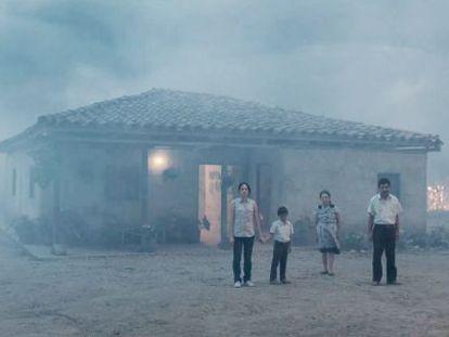 'A terra e a sombra', filme colombiano premiado em Cannes.