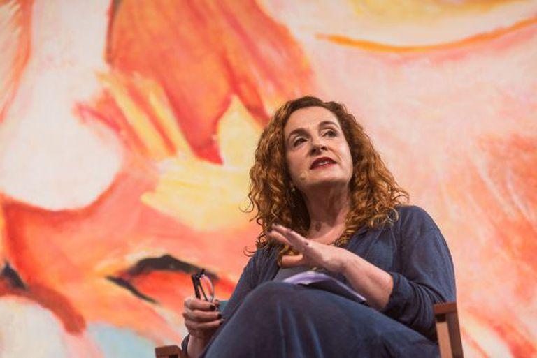 Ayelet Waldman em Paraty, em julho.