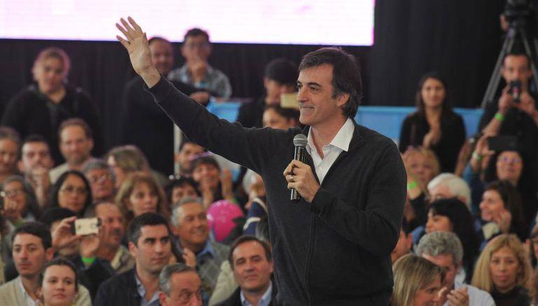 Esteban Bullrich, no lançamento da campanha da aliança Cambiemos.