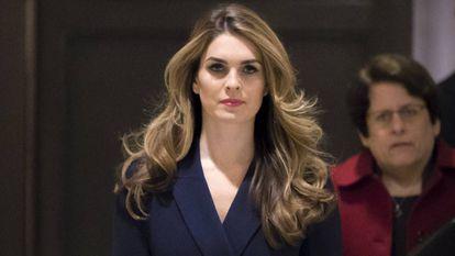 Hope Hicks, diretora de comunicação da Casa Branca