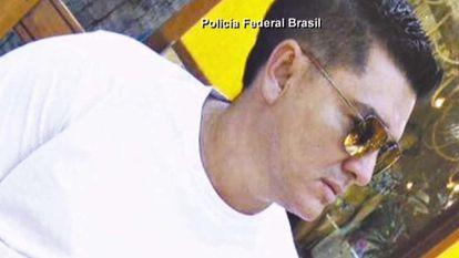 O traficante de drogas José González Valencia pouco antes de ser preso no Brasil.