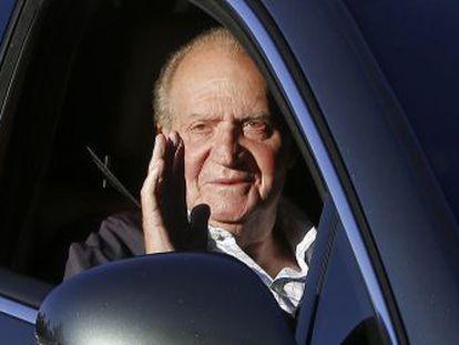 Don Juan Carlos, em Madrid.