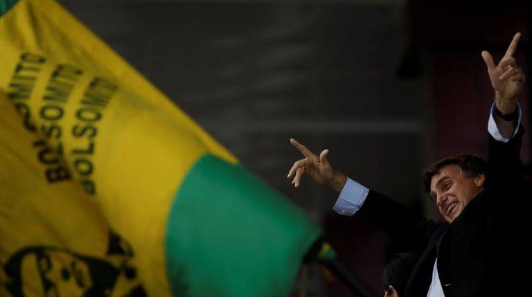 Bolsonaro em Salvador, no dia 24 de maio.