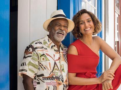 Antônio Pitanga e Camila Pitanga, homenageados da 23ª Mostra Tiradentes.
