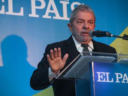 """""""Aqueles que esperam que o Brasil tenha retrocesso vão quebrar a cara"""", diz Lula"""