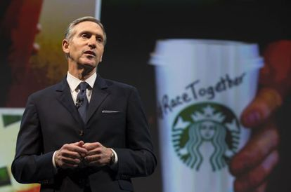 Howard Schultz, conselheiro do Starbucks.