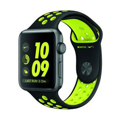 O Apple Watch Nike+.