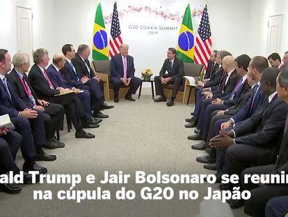 Bolsonaro sinaliza a Macron que fica no Acordo de Paris, e discute com Trump medidas contra Maduro