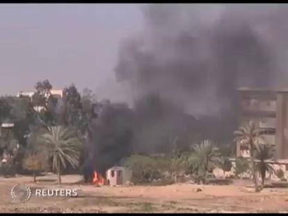 Os seguidores de Morsi incendeiam as universidades no Egito