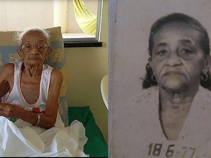A artesã Francisca Celsa dos Santos era, aos 116 anos, a pessoa mais idosa do Brasil e a terceira do mundo.