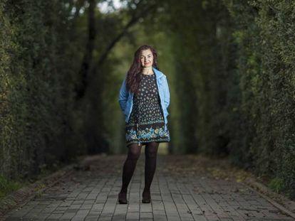 Na foto, Macarena García