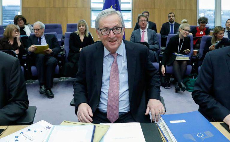 O presidente da Comissão Europeia, Jean-Claude Juncker, em Bruxelas na quarta-feira.