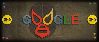 Google homenageia o lutador mexicano
