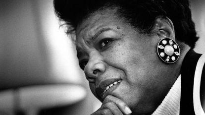 Maya Angelou, em Washington.