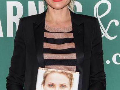 Cameron Diaz apresentou 'Longevity Book' em 2016.