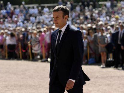 O presidente Emmanuel Macron.