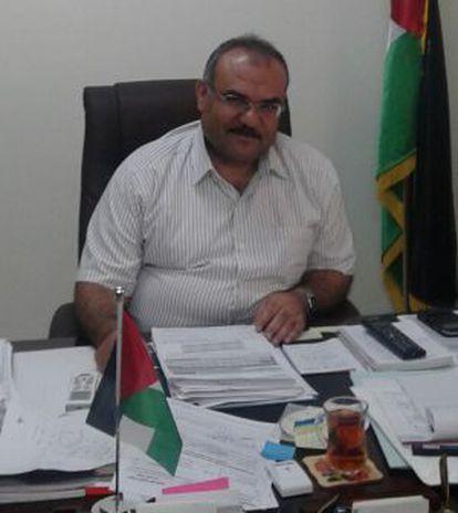 Naji Sharan, vice-ministro palestino da Economia.