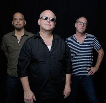 Os membros de The Pixies.