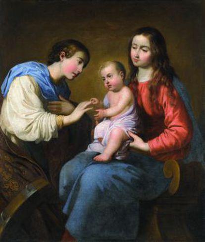 'Los desposorios místicos de Santa Catalina de Alejandría', de Zurbarán.