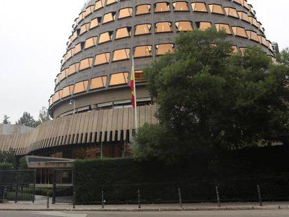 Fachada do Tribunal Constitucional, situado em Madri.