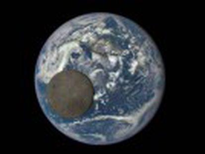 As fotografias foram captadas por uma câmera telescópica batizada como Épica, posicionada a 1,5 milhões de quilômetros da Terra