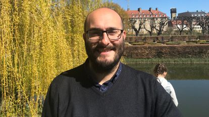 O pesquisador David Pulido trabalha desde 2017 no Instituto Jenner, em Oxford (Reino Unido).