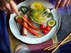 Los vegetales son uno de los principales componentes de la dieta mediterránea.